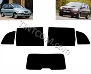 Фолио за тониране - Hyundai Matrix (5 врати, 2001 - 2010) Johnson Window Films - серия Ray Guard